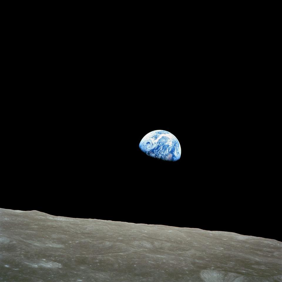 Earth pictures from of moon the