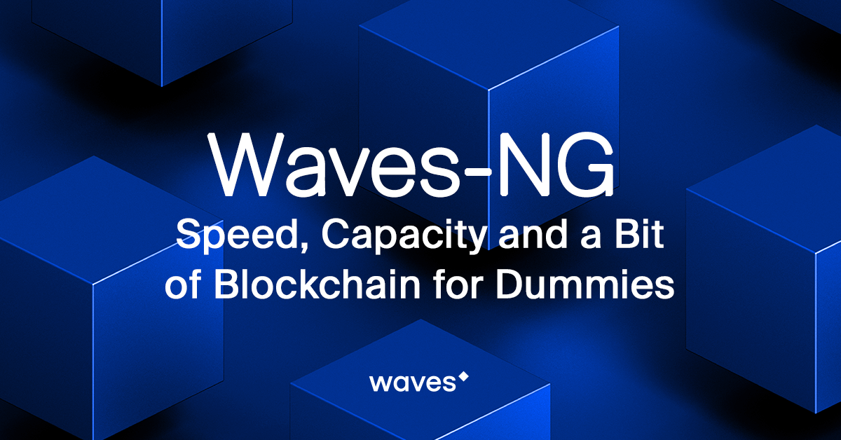 Waves-NG: Speed, Capacity and a Bit of Blockchain for Dummies