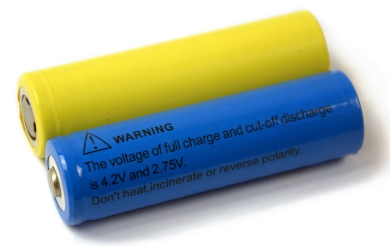Batteries — choose the right power source for your robot | 769 x 485 jpeg 41kB