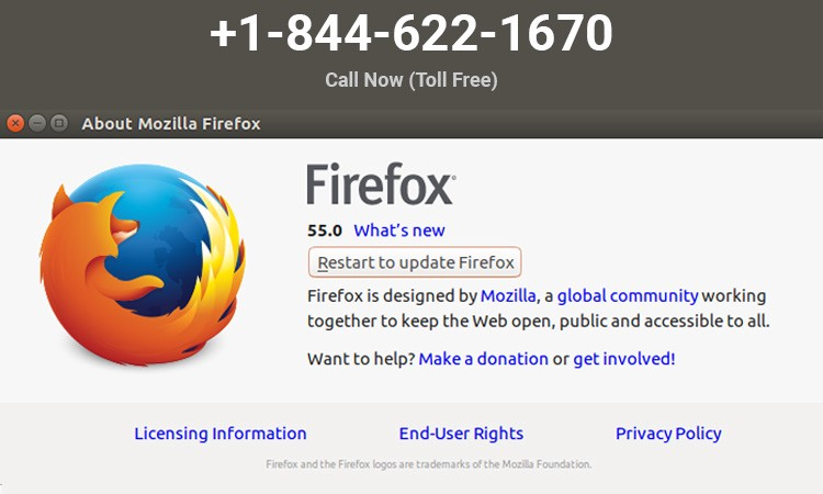Know How to Update Your Mozilla Firefox +1–844–622–1670