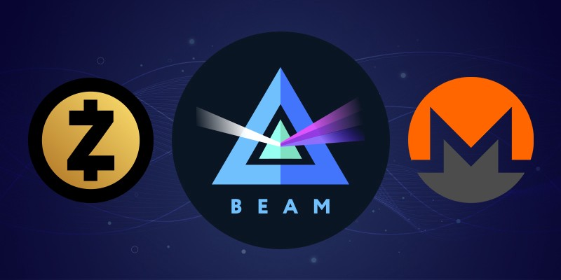 What's the difference between Monero, Zcash, and BEAM?