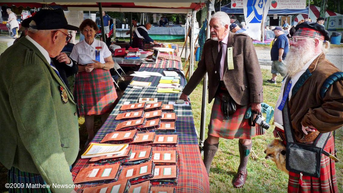 688effcf4 Tartan Search table at the Grandfather Mountain Highland Games (NC)