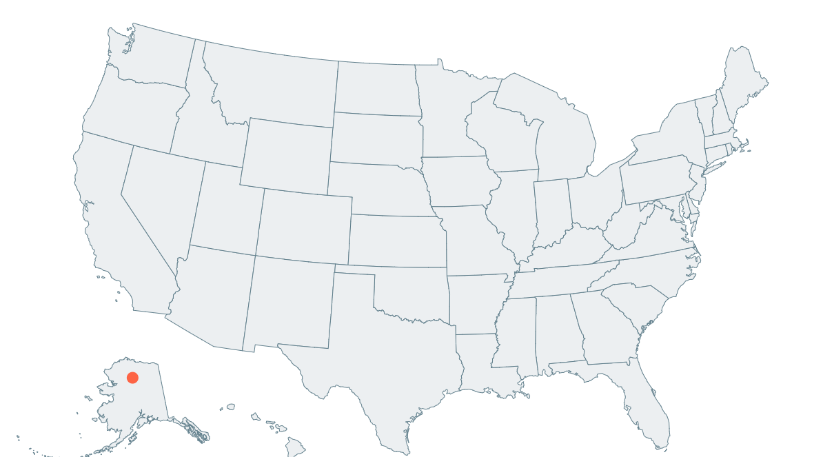 Simple Map Of The Us.Rendering The Us With React Simple Maps August Giles Medium