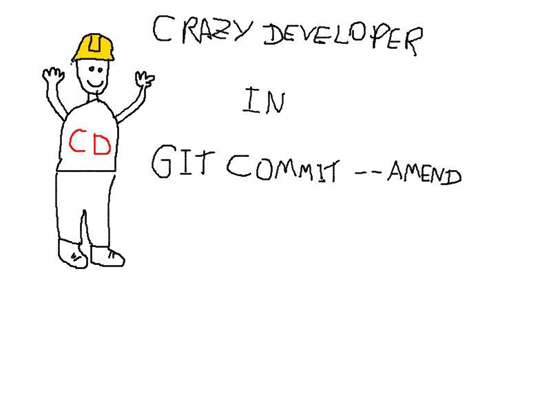 Crazy Developer In Git Commit Amend The Miners
