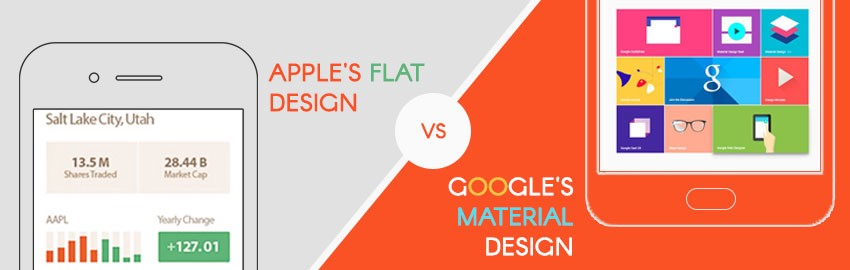 Google's Material Design vs Apple's Flat Design: Which is better?
