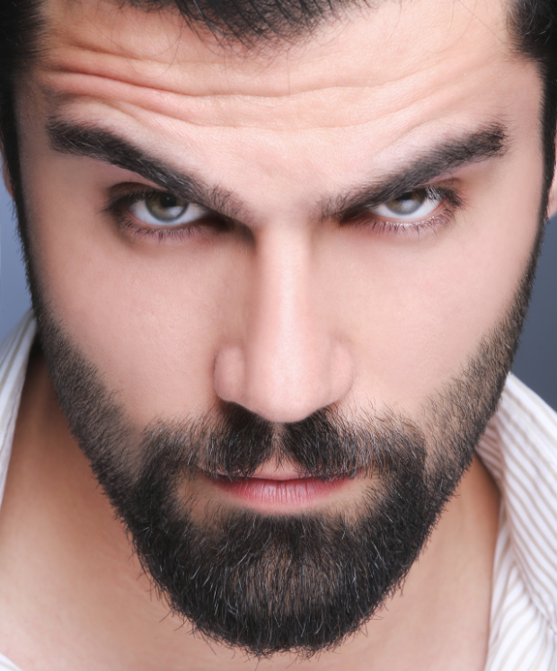 bacteria found in beards