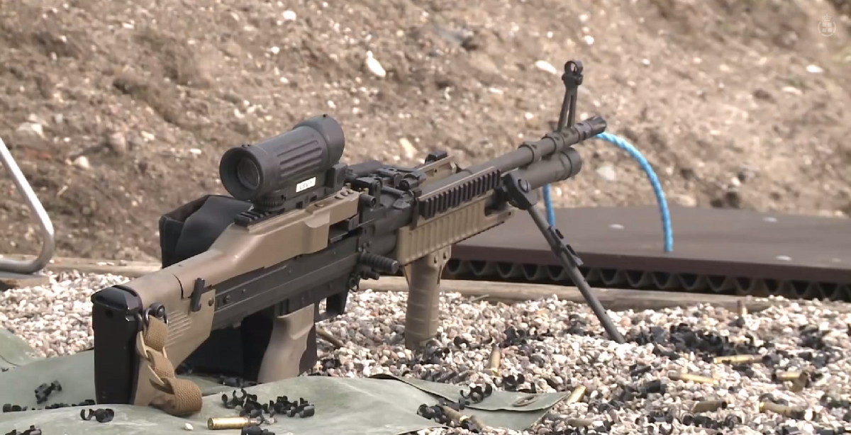 Airsoft Guns Danmark the danish military has a new retro-futuristic machine gun