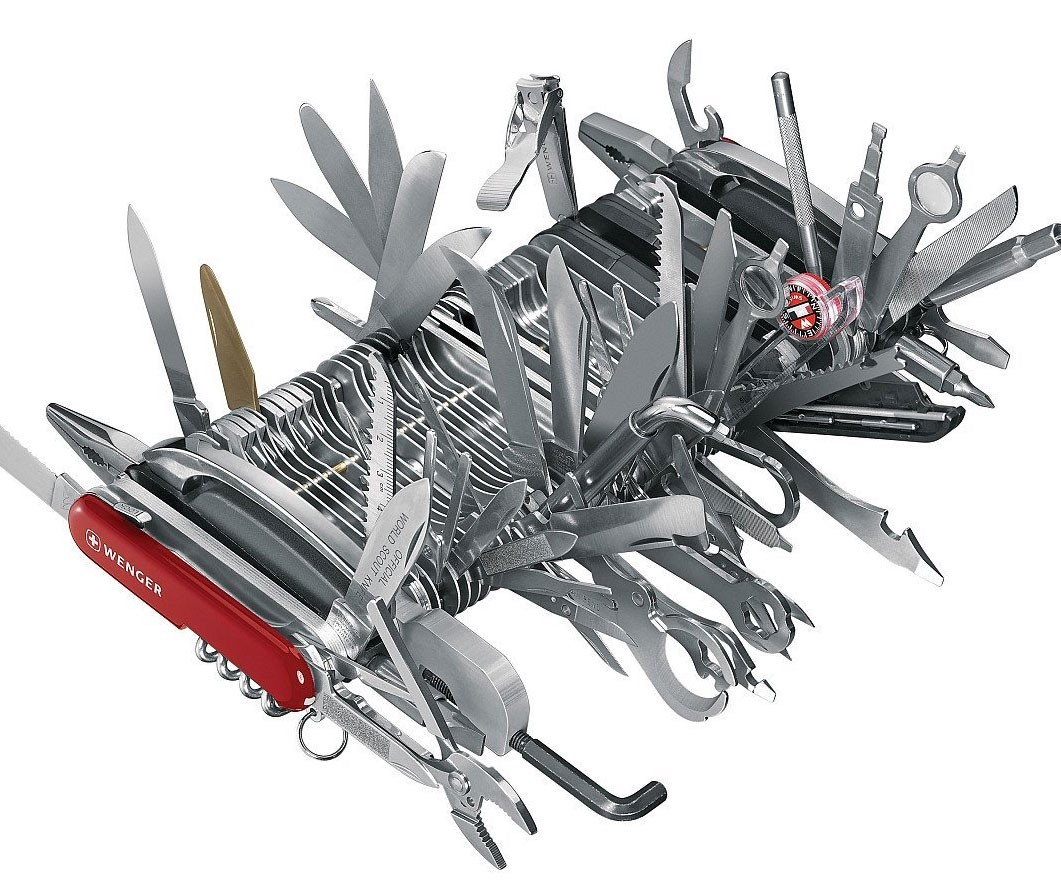 Are You A Swiss Army Knife Enrique Dans Medium