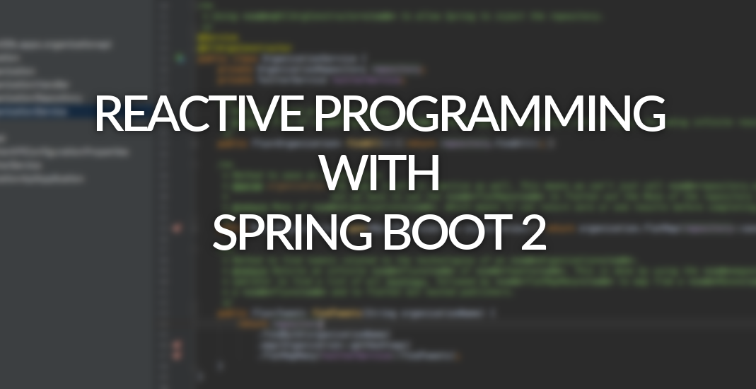 Reactive Programming With Spring Boot 2 Optis