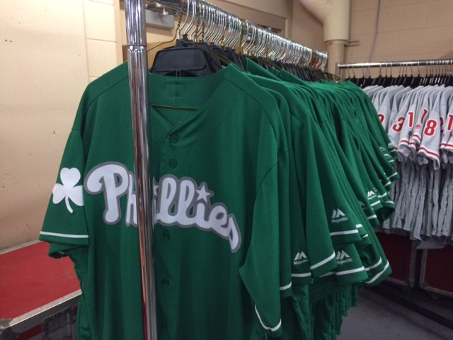 0dd584f6c Credit goes to the late Tug McGraw for starting a Phillies tradition of  wearing green on St. Patrick's Day. According to broadandpattison.com, ...