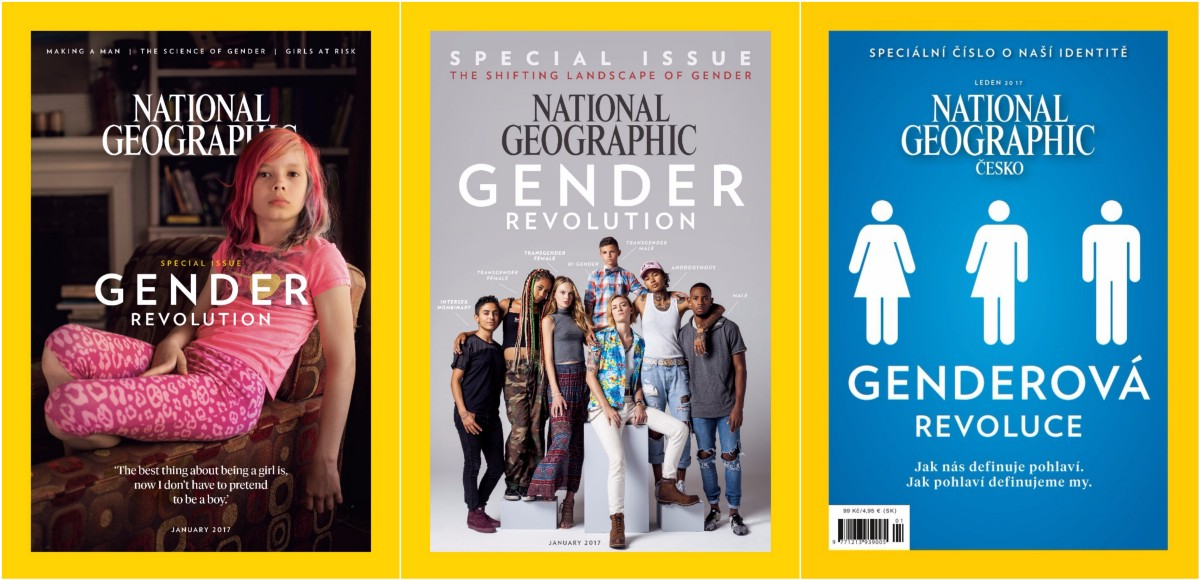 The Czech Edition Of National Geographic S Gender