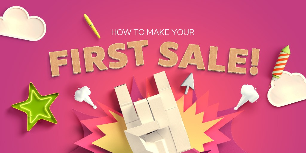 Image result for Making my First (Real) Sale