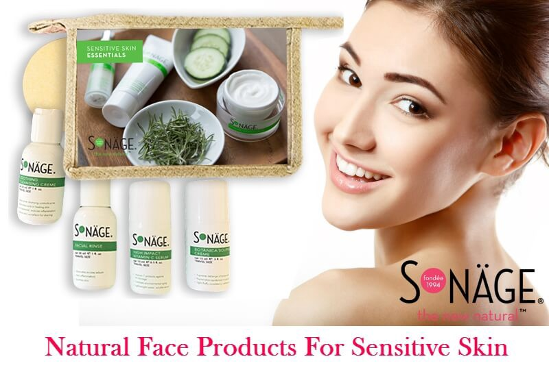 Natural products for dry skin on face