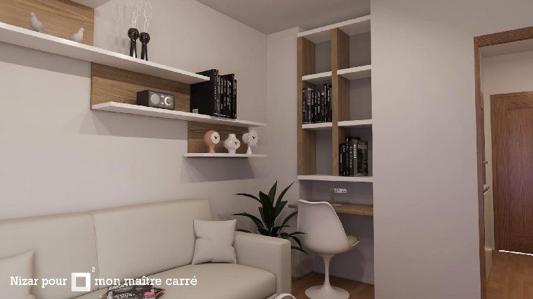 3 propositions pour am nager un studio de 17m avec un budget de 5000 euros. Black Bedroom Furniture Sets. Home Design Ideas