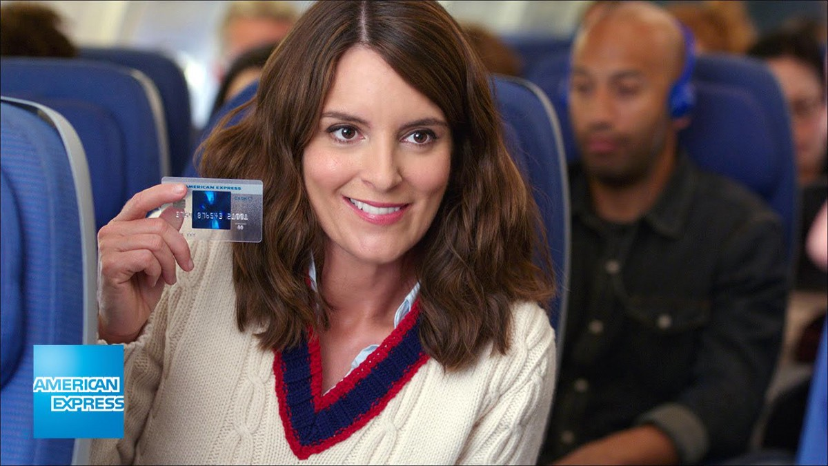 Tina Fey Does Not Have An American Express Blue Cash