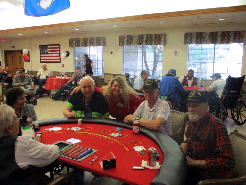 residents at the texas state veterans homes have summer fun
