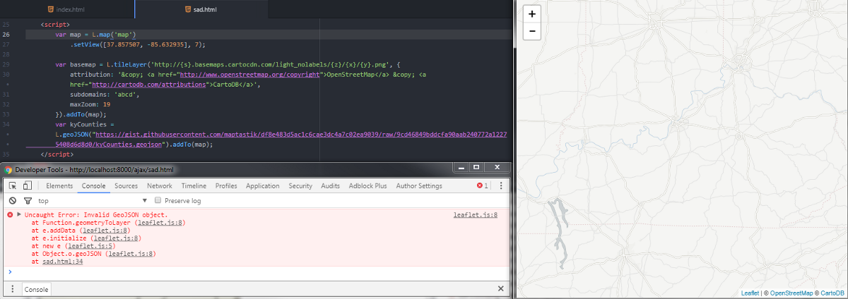 Loading External GeoJSON Another Way to
