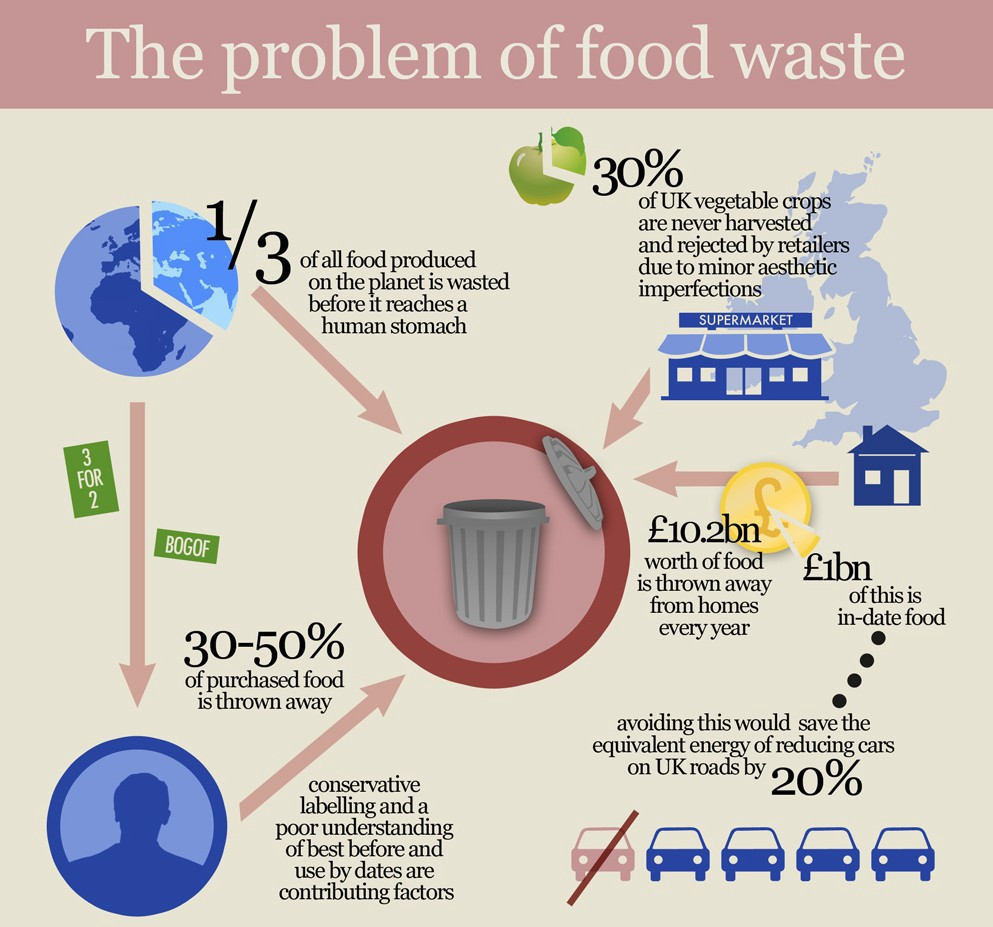 wasting food is wasting planet
