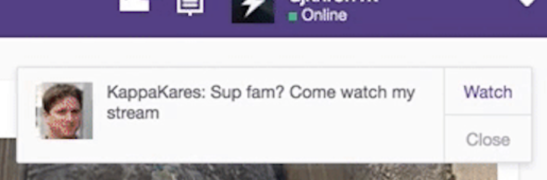 Customize your Go Live Notifications \u2013 Twitch Blog