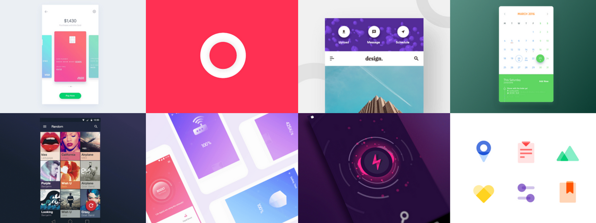 The Best of Material Design in May 2017 – Design, Code and Prototyping