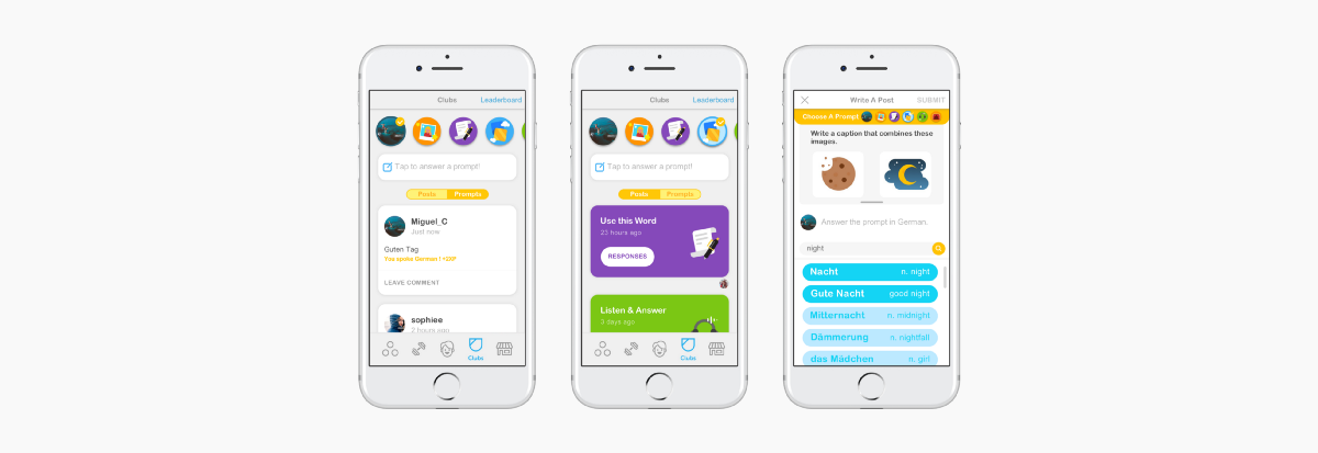 Encourage User Posts on Duolingo Clubs — A Design Case Study