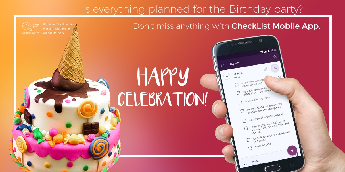 make your birthday unforgettable with simple task manager check list