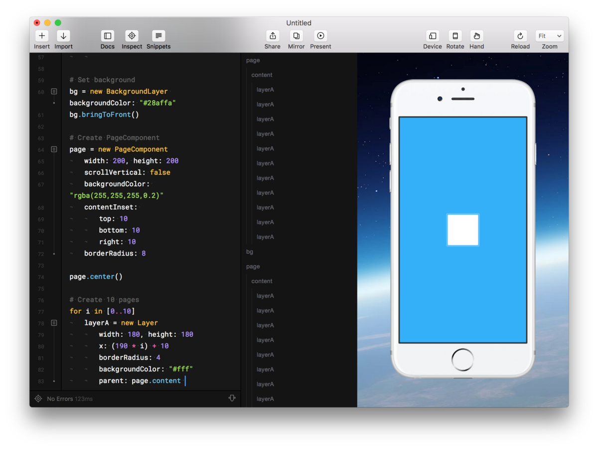 Tips for Big projects with Framer