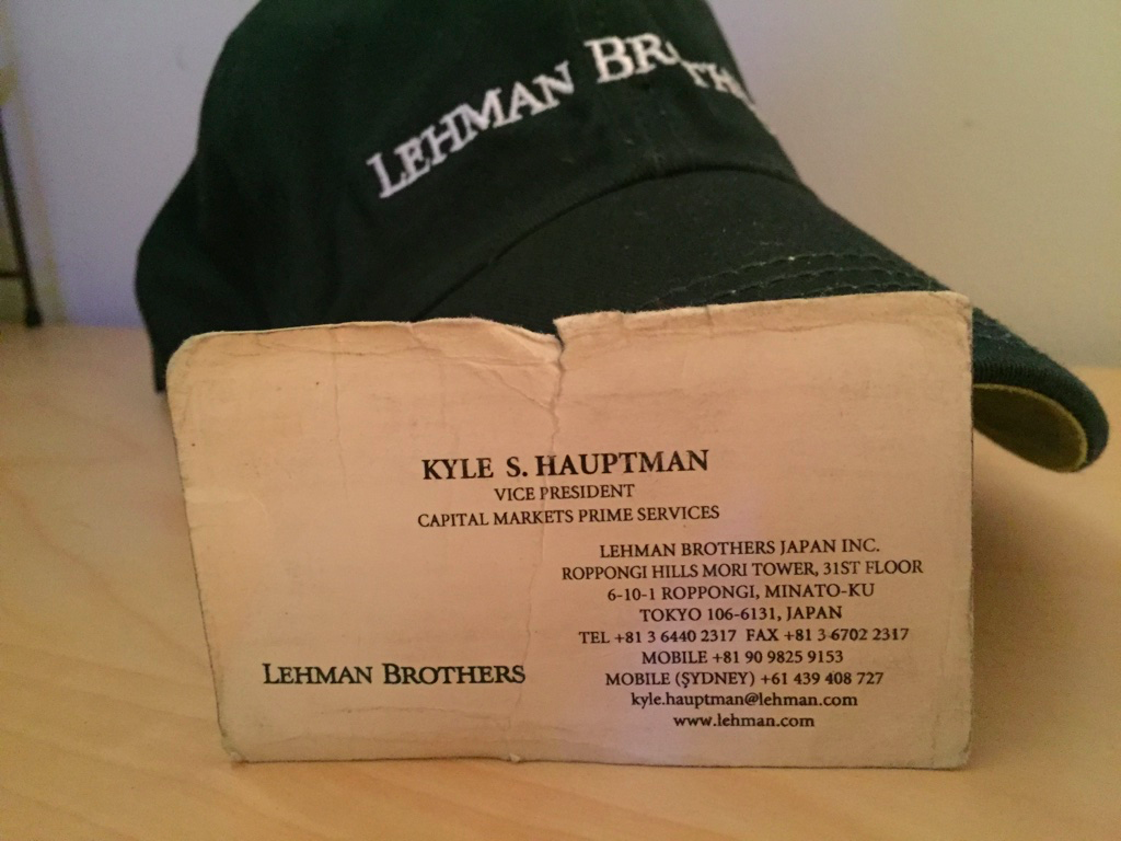 lesson from the lehman brothers