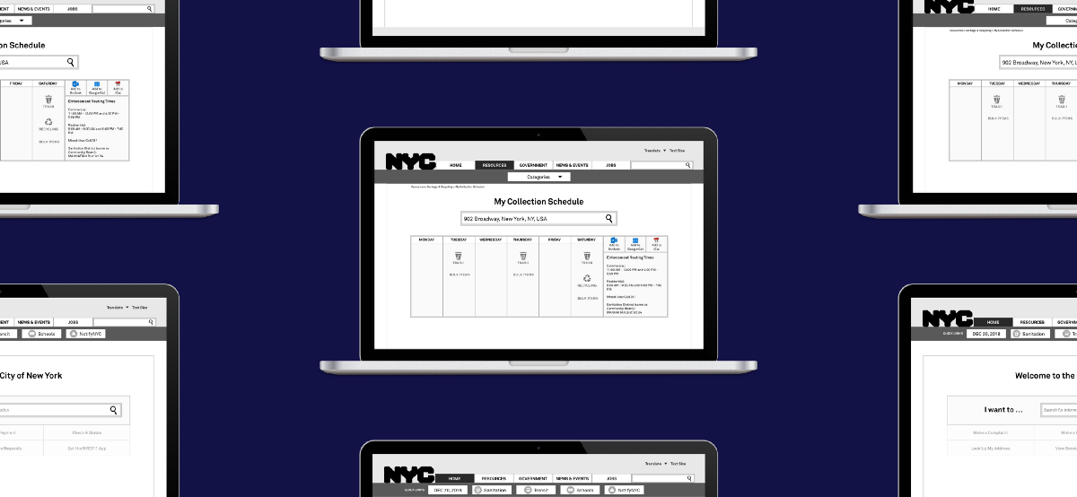 Respect the Process: A UX Case Study on Redesigning NYC.gov