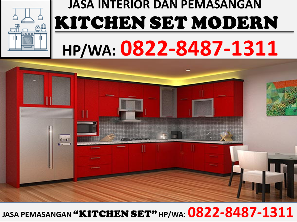 Hp Wa 0822 8487 1311 Tsel Kitchen Set Minimalis Batam