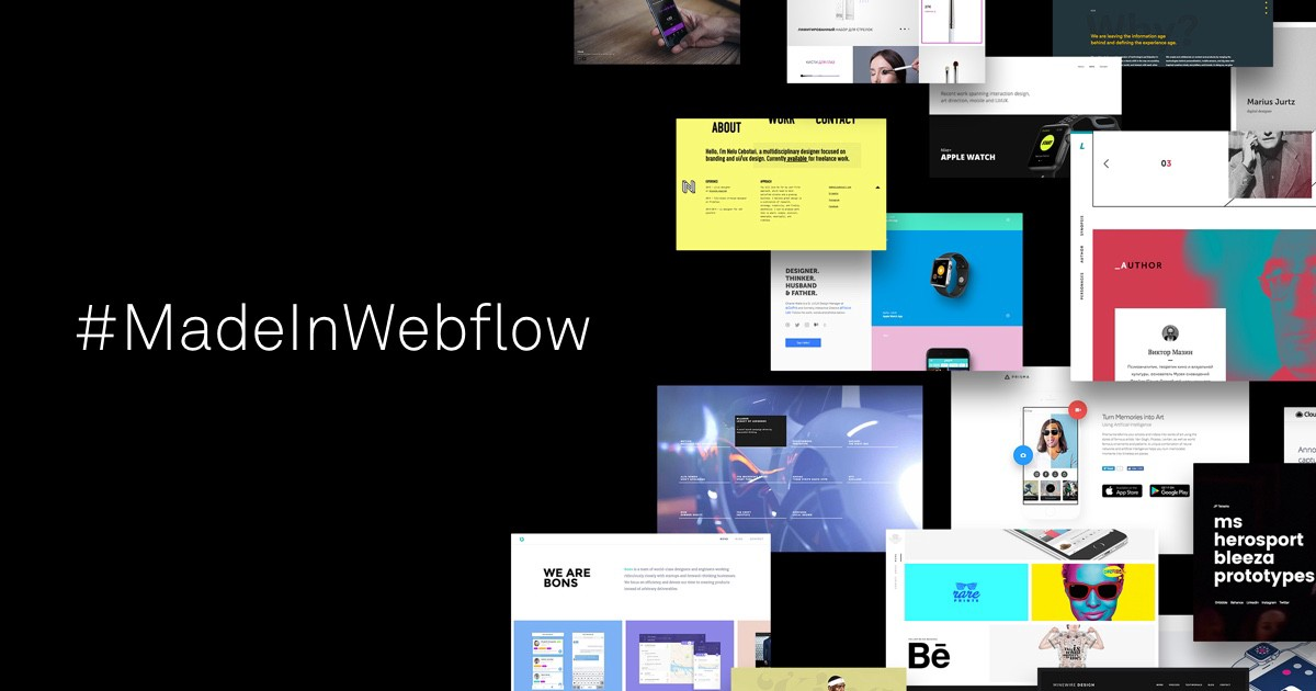Using Webflow as a prototyping tool: Good and Bad