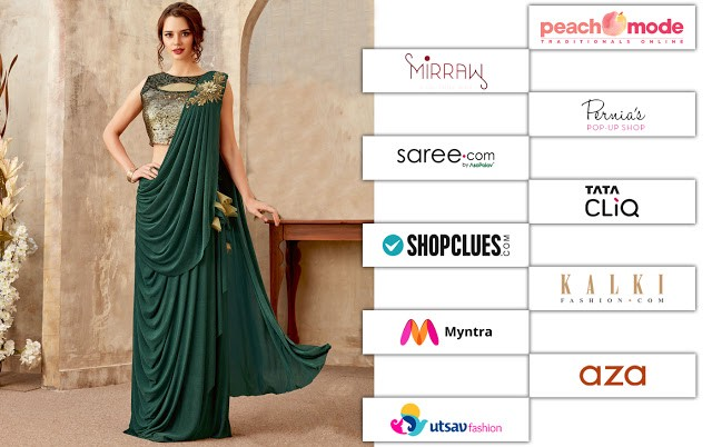 abfa0c2df Best Online Shopping Sites For Ethnic Wear in 2019  Buyers Guide