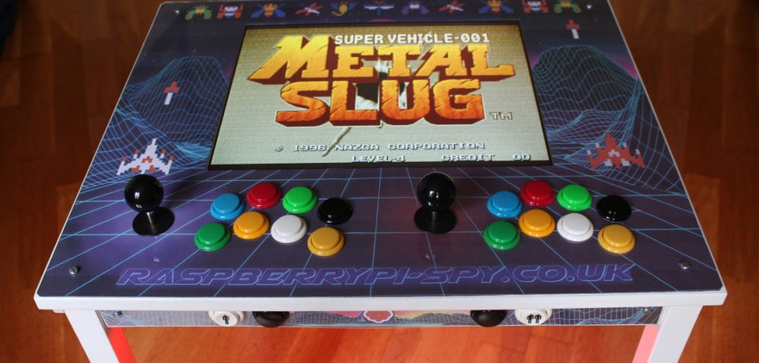 Turn An Inexpensive Ikea Table Into An Arcade Cabinet With A