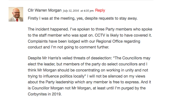 The initial press statement by councillor warren morgan leader of cllr morgans below the line comment on the brighton hove news article based on his press statement altavistaventures Image collections