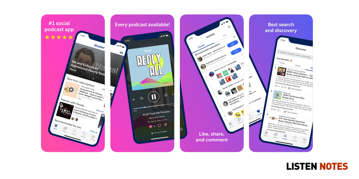 The Only Podcast App List You'll Ever Need in 2019 | Listen