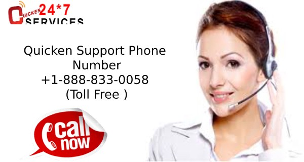 Quicken Support +1–888–833–0058 Phone Number Toll Free For