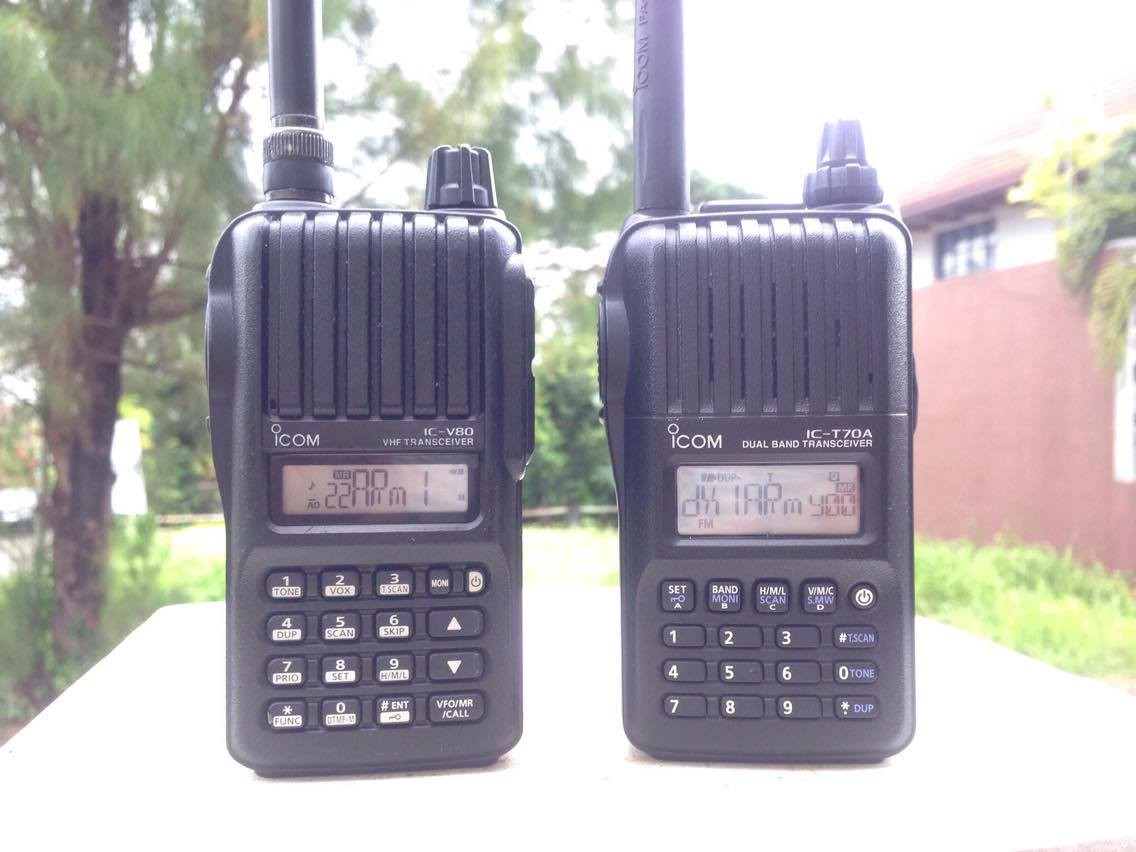 Icom Ic V80 Vs T70a Is It Worth The Price Difference Ht Verxion Uv 5re