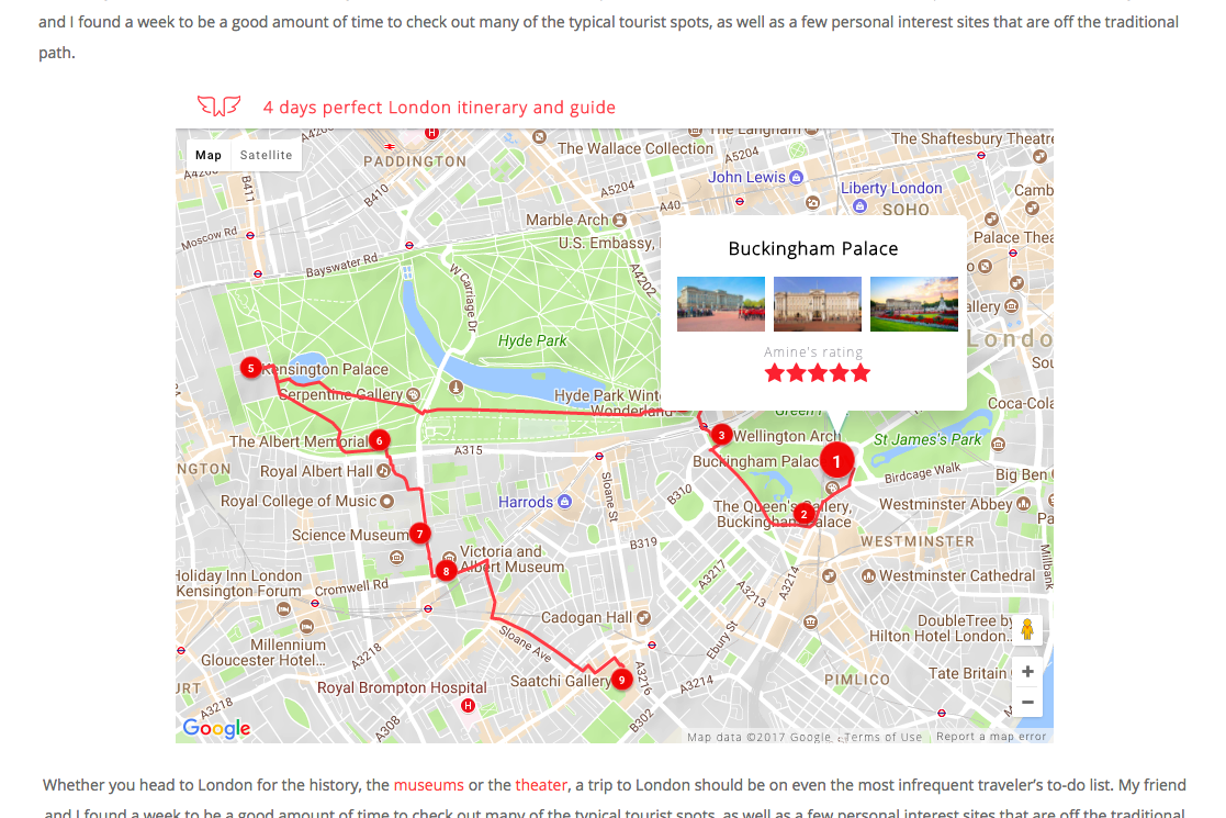 How to Create & Embed a Kick-Ass Interactive Travel Map on your ...