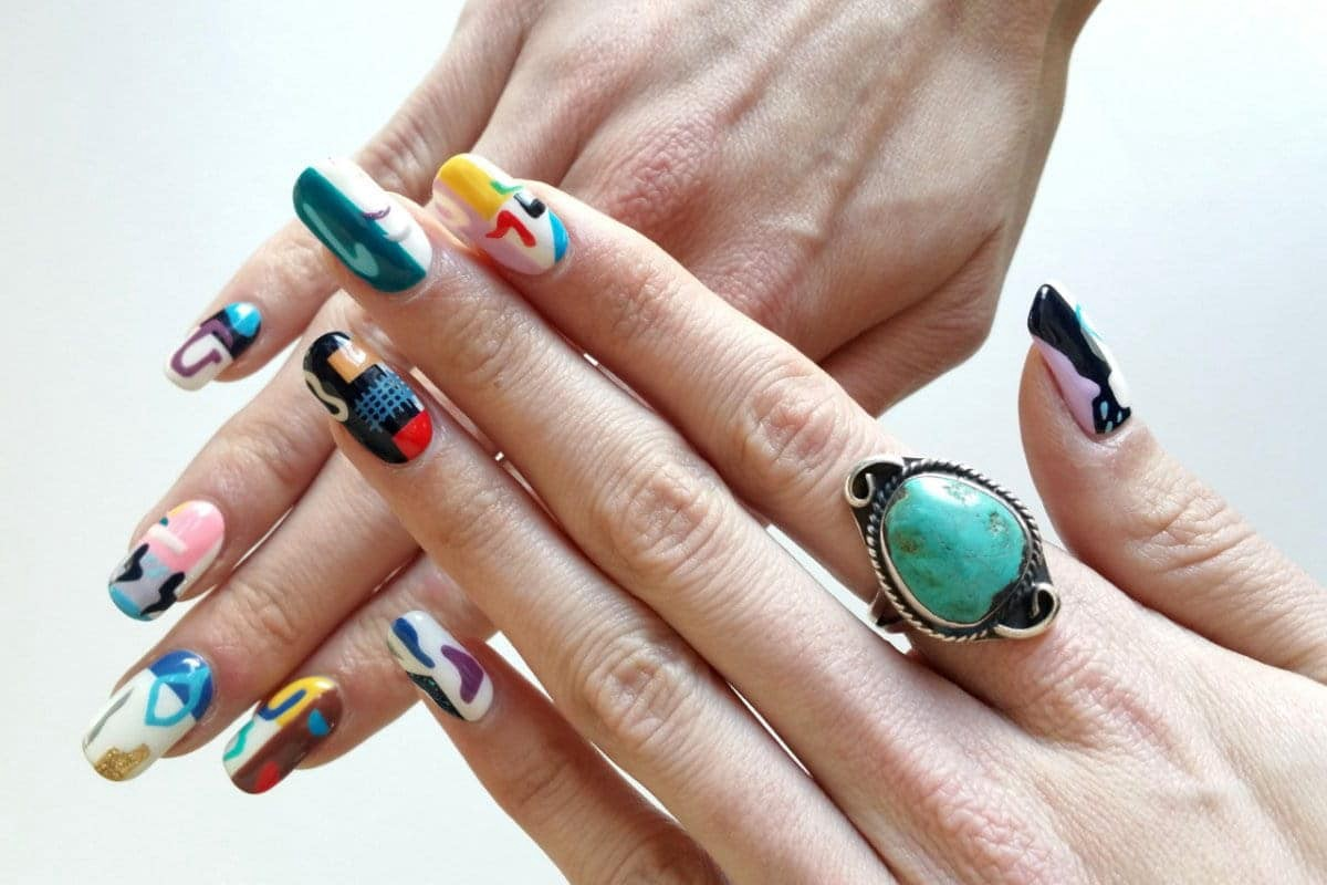 Stand Out With Our Latest Floral Nails Trend Fashgroupe Medium