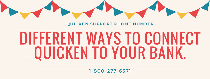 Different ways to connect Quicken to your bank  Quicken