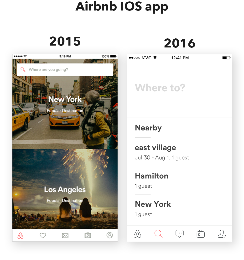 Complexion Reduction A New Trend In Mobile Design Hot Apps Medium