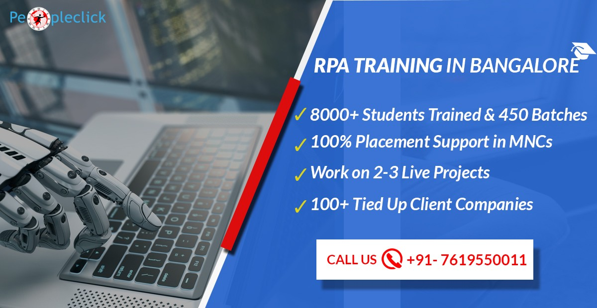 Rpa Real Time Project Training In Bangalore Peopleclick Medium
