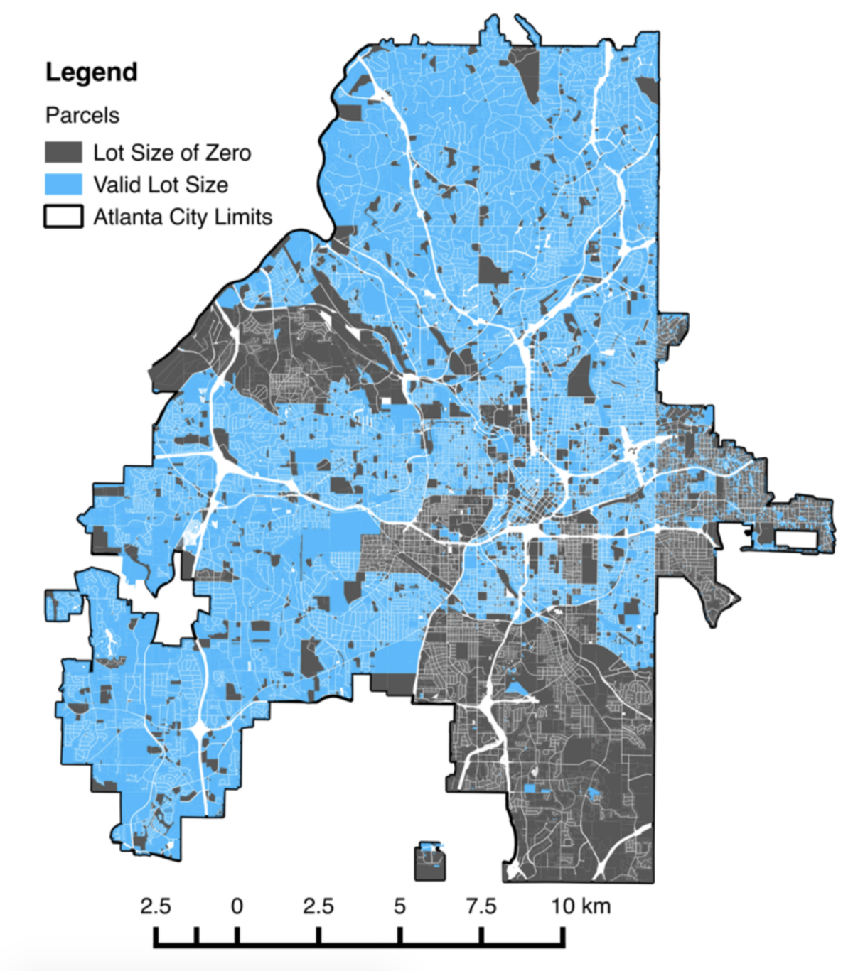 Is zoning to blame for Atlanta's low building density? on