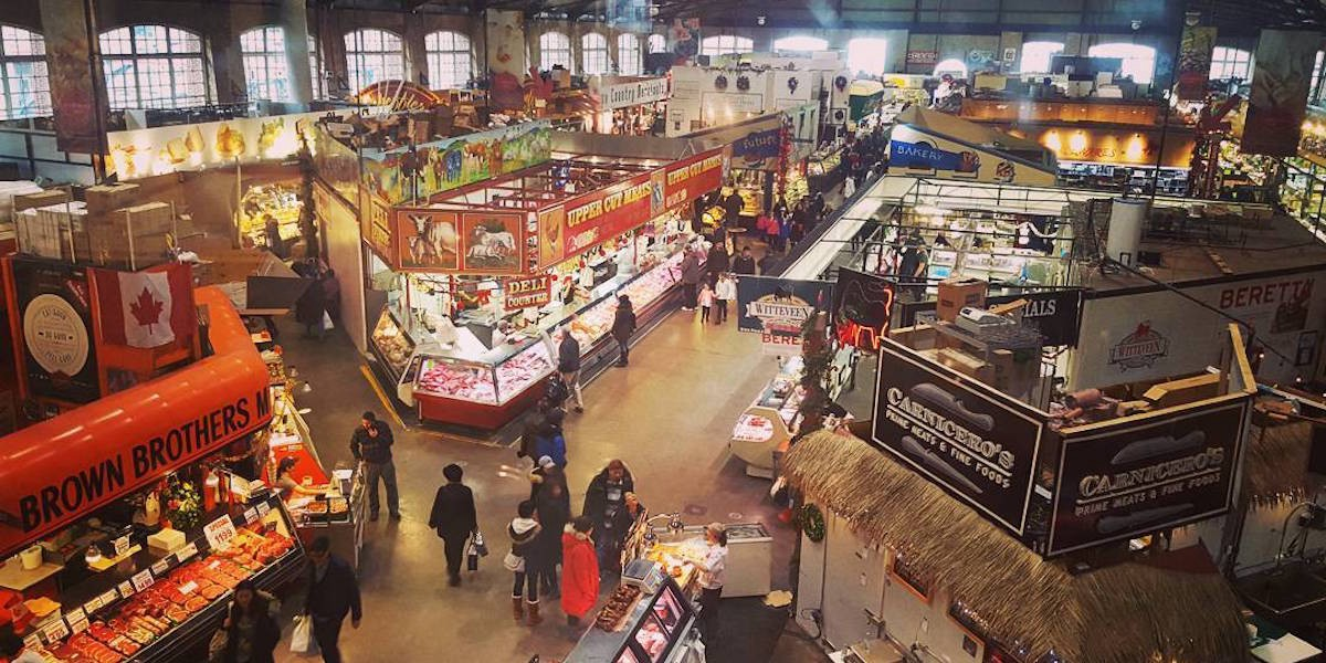 bringing more people to the st lawrence market on and
