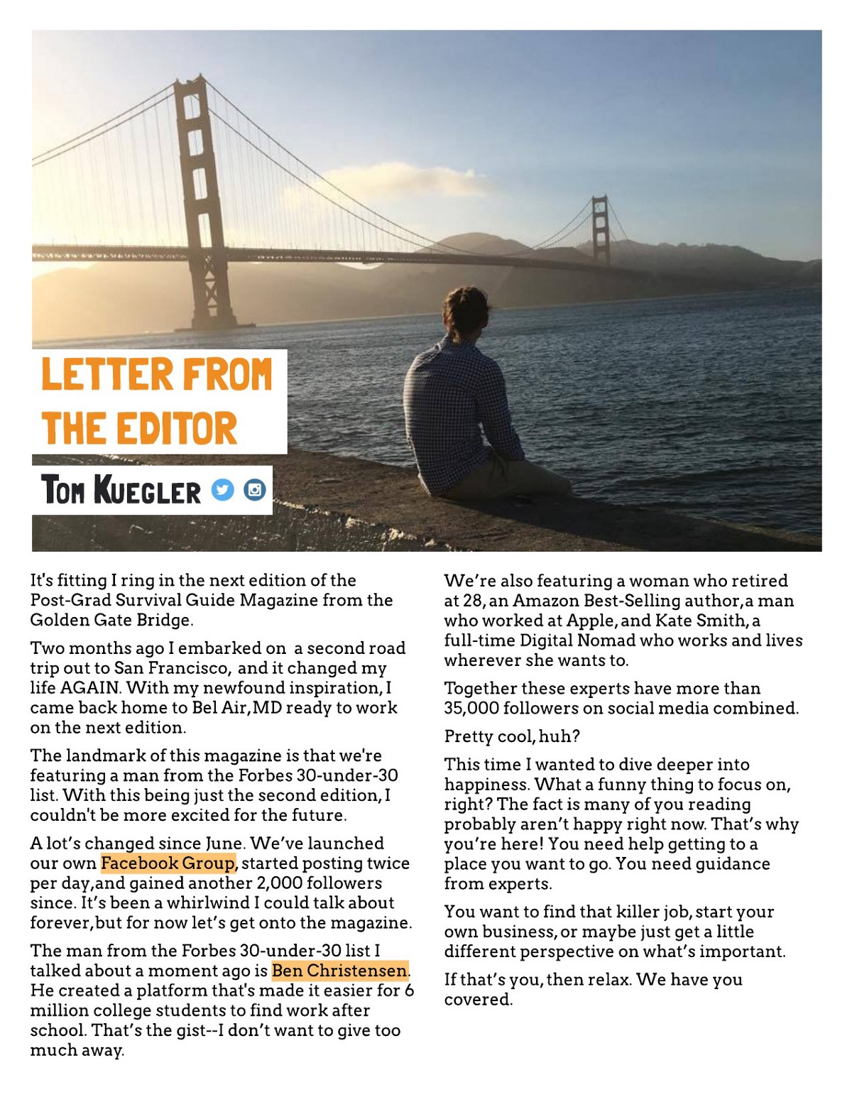 How To Self-Publish A Magazine In 30 Days – The Mission ...