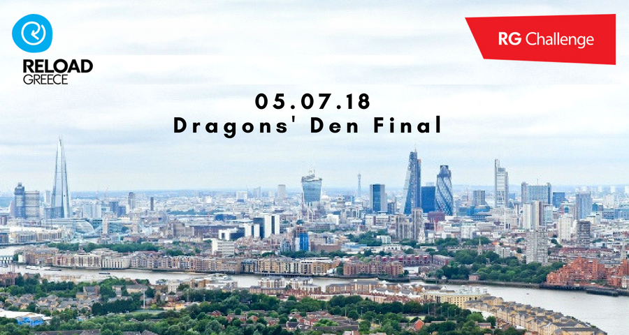 Mytracknet attending RG Challenge18 Dragons' Den final!