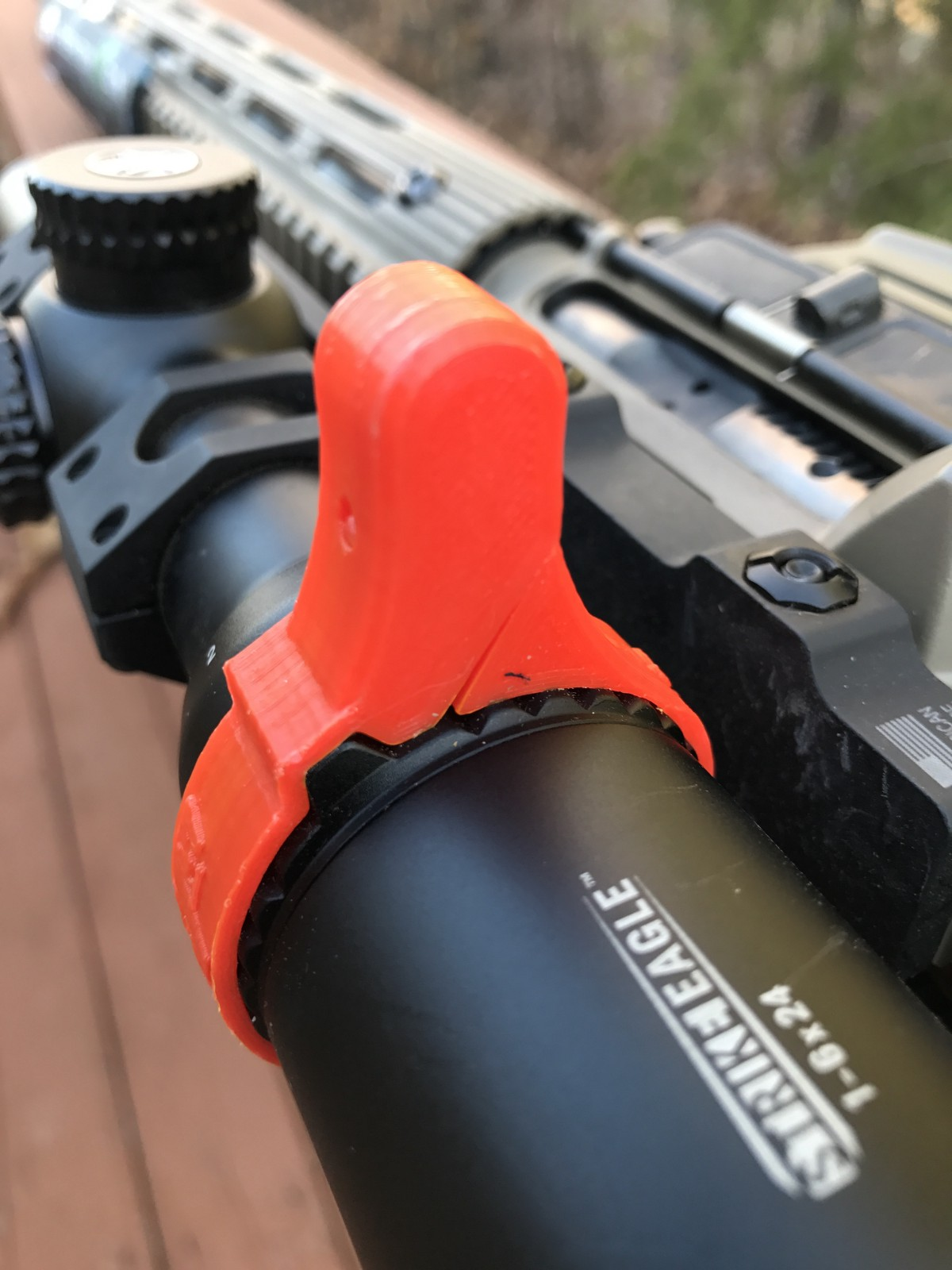 Missouri Company Makes Affordable Sturdy Scope Throw Levers