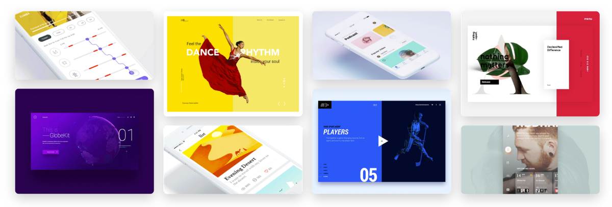 Ui interactions of the week 82 muzli design inspiration for Home design 9app