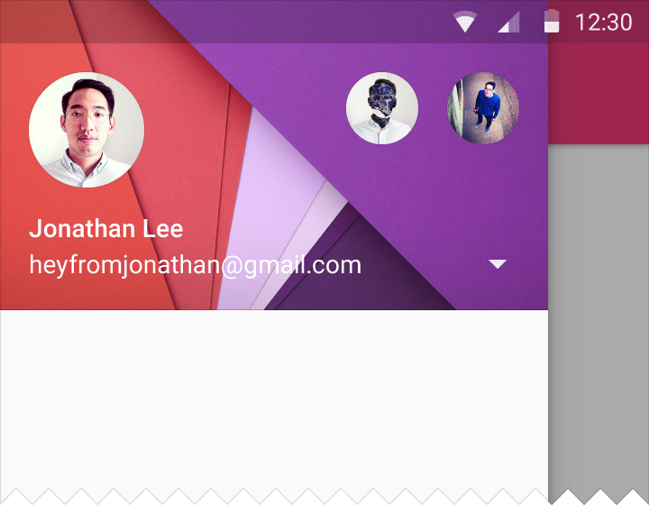 Material Design Navigation Drawer Ii Styling Androidpub