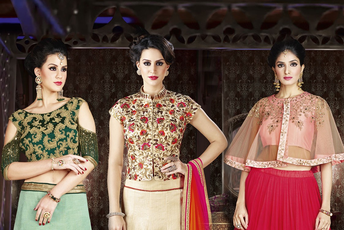 2d9d1e2fc00 Fashion is something that can be purchased but style is what you posses.  There has always been western silhouette inspiration in our Indian Ethnic  wear.